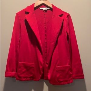 ALL TOPS 2 FOR $15 red blazer from Macy's